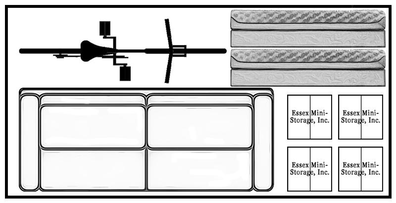 5x10 Unit 400x800 with items