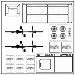 10x10 Unit 400x400 with items